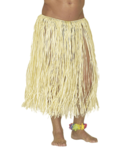 JUPE HAWAII EN RAFFIA NATUREL 78 cm