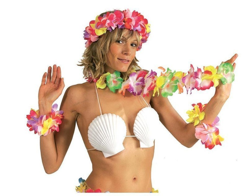 "Iles, SOUTIEN GORGE COQUILLAGE/"" Hawai"
