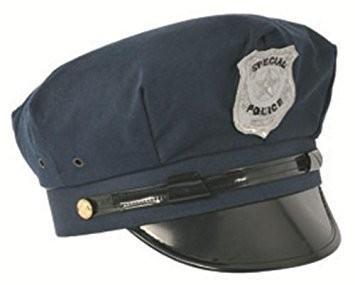 casquette special police mag embal fete. Black Bedroom Furniture Sets. Home Design Ideas